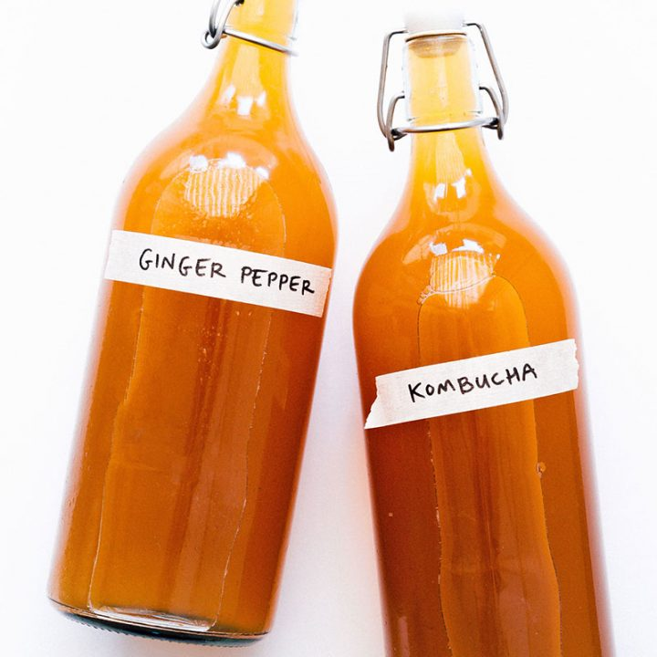 Spicy Ginger Kombucha